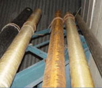 Комплект эталонных волноводов для калибровки аппаратуры акустического каротажа
